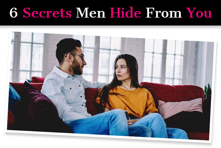 6 Big Secrets Men Hide From You post image