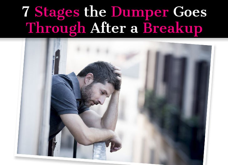 7 Stages of a Breakup For The Dumper: How Guys Deal With Breakups post image